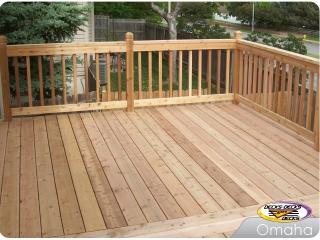 Deck made of Cedar