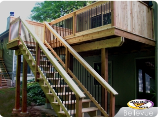 Cedar Deck with Balusters