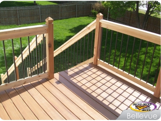 TimberTech mixed deck