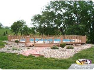 Round Pool Deck