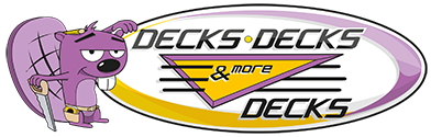 Logo for Decks Decks & More Decks Omaha