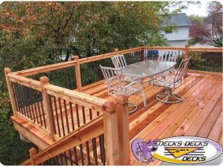 Decks Decks & More Decks Cedar