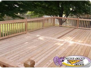 Cedar Wood Deck Builders
