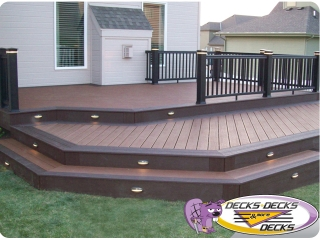 deck lighting omaha installers