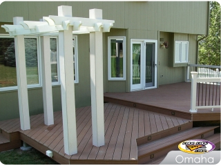 Low Maintenance Deck with Arbor
