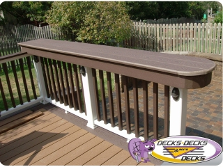 deck table top counter decking trex