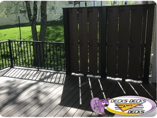 privacy screen fence deck omaha