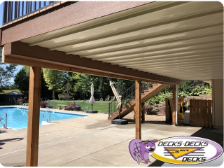 drainage system dry area under decks omaha
