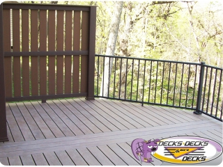 screen privacy low maintenance decks omaha