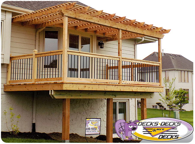 arbor pergola composite omaha decks decks more decks - Arbors Pergolas Photo Gallery Decks, Decks And More Decks Custom