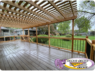 Pergolas Arbors omaha builders deck