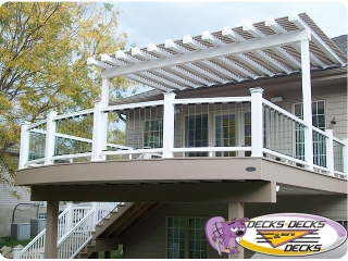 arbors pergola decks decks more deck omaha
