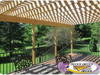 pergola arbor designs blueprints omaha