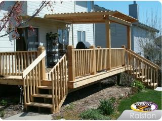 Cedar Deck with Arobr