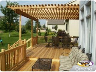 Cedar Deck with Arbor