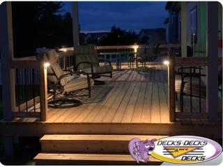 Deck lighting package