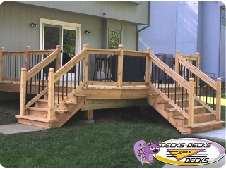 cedar wood decks omaha