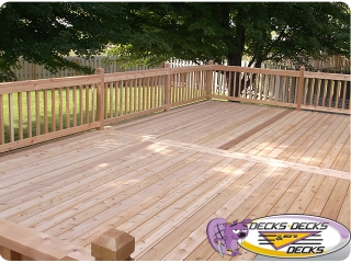 Cedar Wood Deck Builders