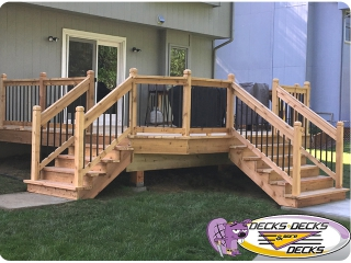 cedar wood decks omaha
