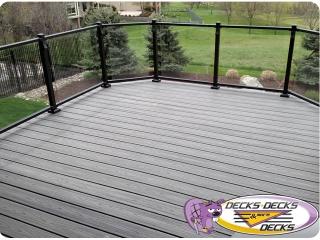 Aluminum railing deck company omaha