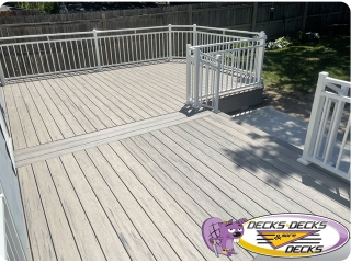 Classic-White-deck-railing-styles