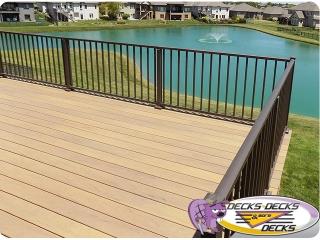 Timbertech trex composite omaha deck builder