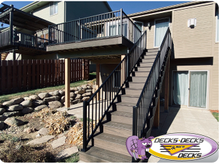 Deck project Omaha