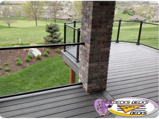 Glass Decks Decks more decks omaha nebraska