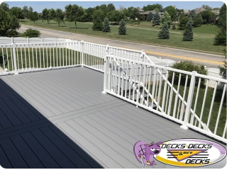 aluminum railing deck omaha