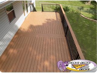 composite deck low maintenance decks omaha