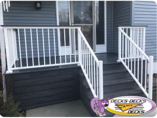 front porch deck omaha