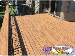low-maintenance composite manufactures decks