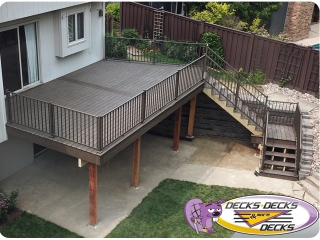 low maintenance decking railing omaha