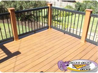 timbertech azek trex decking railing omaha