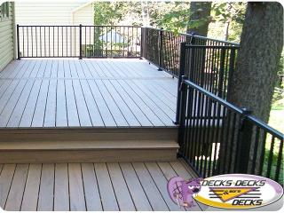 timbertech trex composite deck builder nebraska