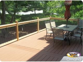TimberTech mixed deck