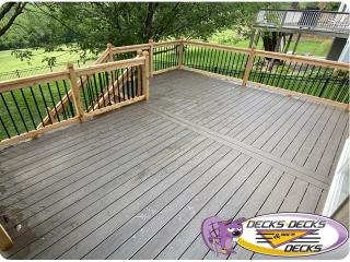 Cedar-Aluminum-railing-composite-decking