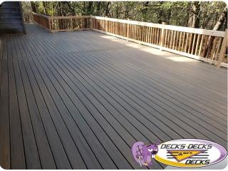 Cedar with composite deck Papillion