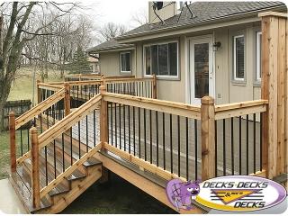 Deck construction husker nebraska