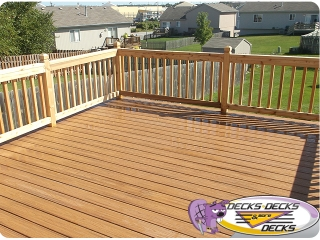 composite pvc decking railing omaha