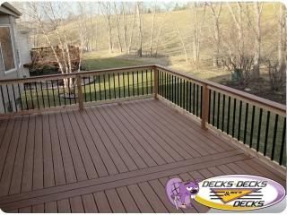 mixed deck trex timbertech papillion