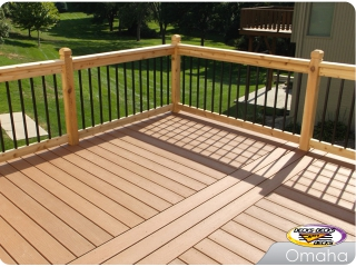 Trex mixed deck