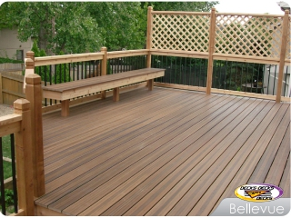 Mixed decking