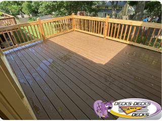 Cedar deck composite decking Omaha