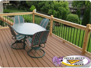 Composite decking Papillion Nebraska
