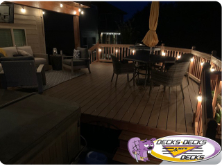 Night decking lighting Nebraska