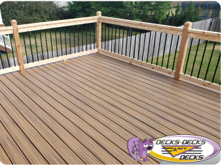 Trex Tropical decking deck builder