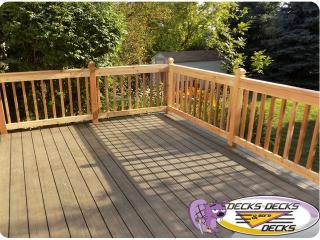 cedar wood deckorators omaha nebraska deck builder