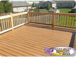 composite pvc decking railing omaha