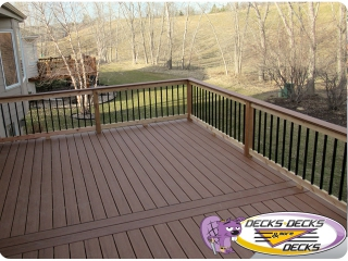 mixed deck trex timbertech papillion